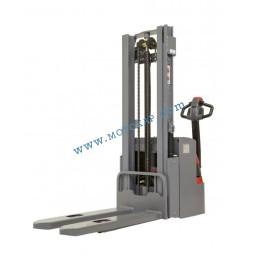 Стакер електрически 1,2 тона / 3,0 метра с първоначален ход 125 мм