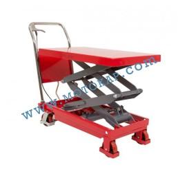 Хидравлична ножична платформена количка T0007, 350 кг/1300 мм, 1150 х 500 мм