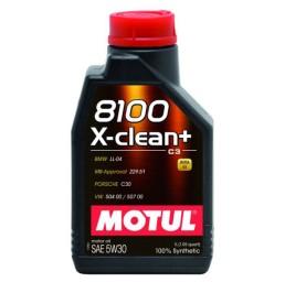 Motul 8100 X-Clean + 5W30 - 1 литър