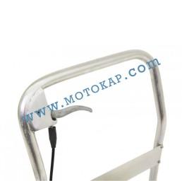 Хидравлична ножична платформена количка неръждавейка T0003, 350 кг/1295 мм, 1150 х 500 мм