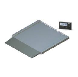 Нископрофилна платформена везна NPPV, 0,3 т., 800х800 мм инокс
