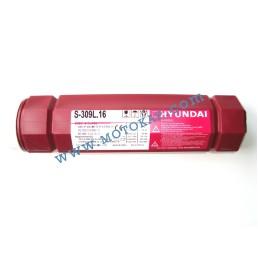 Електроди неръждаеми Е309L-16 ø 3.2 мм тубус 2.5 кг, Hyundai