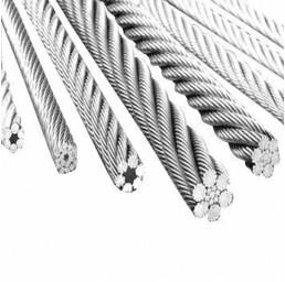 Стоманено въже неръждаемо AISI316 7х19 3 мм