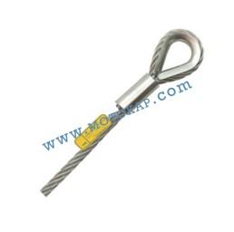 Кауш (гаша) DIN 6899B за въже 4,0 мм, тип RO