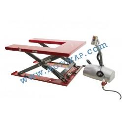 Електрическа ножична платформа E0006 1000 кг, 80-760 мм, 1450х1140 мм