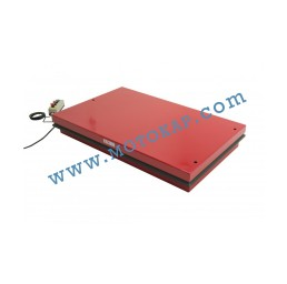 Електрическа ножична платформа E0001 500 кг, 190-1010 мм, 1300х800 мм