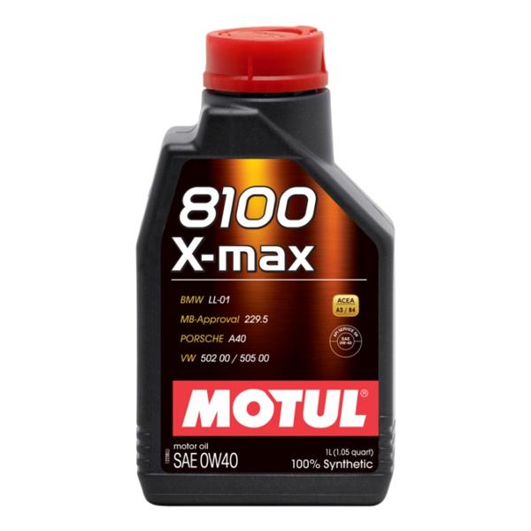 0W-40 X-max 8100 - 1 литър