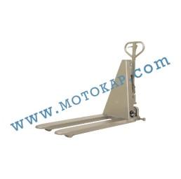Електрическа ножична транспалетна количка 100% неръждаема стомана, 1000кг/800мм