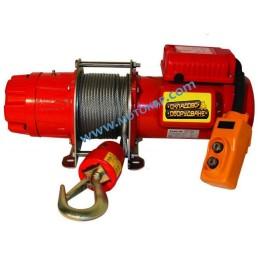 Електрическа въжена лебедка 300 кг, 30 метра, 220V, тип BР 300