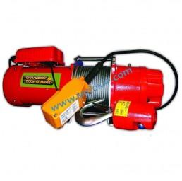 Електрическа въжена лебедка 500 кг, 60 метра, 220V, тип BР 500