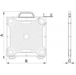 Пневматична повдигателна възглавница 11 тона 25 ÷ 207 мм