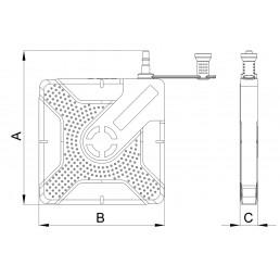 Пневматична повдигателна възглавница 2 тона 22 ÷ 94 мм