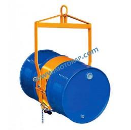 Захват за вертикално повдигане и обръщане на варели, 360 кг